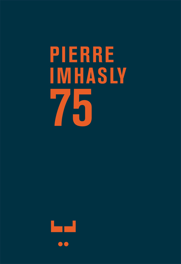 Booklet Pierre Imhasly 75